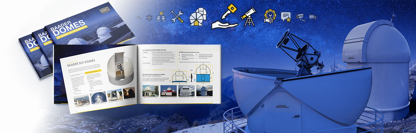 Catalog for Baader Standard domes