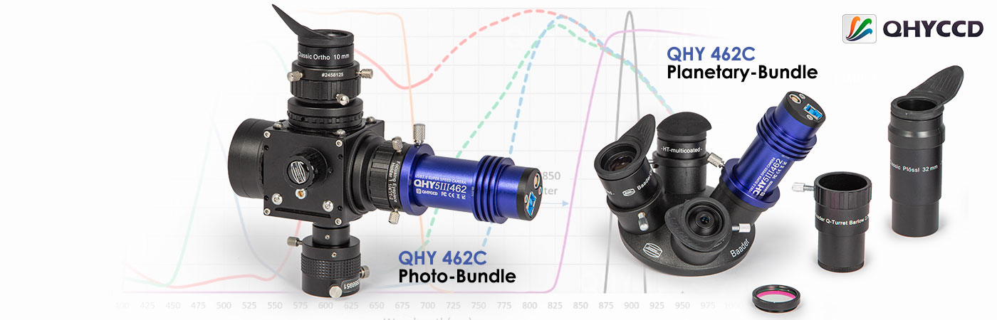 High quality camera sets with QHY-5-III-462C camera