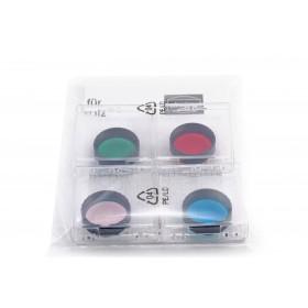 """CCD RGB Filtersatz für Einsteiger 1¼"""" (3 Farbfilter + IR-Cut)"""