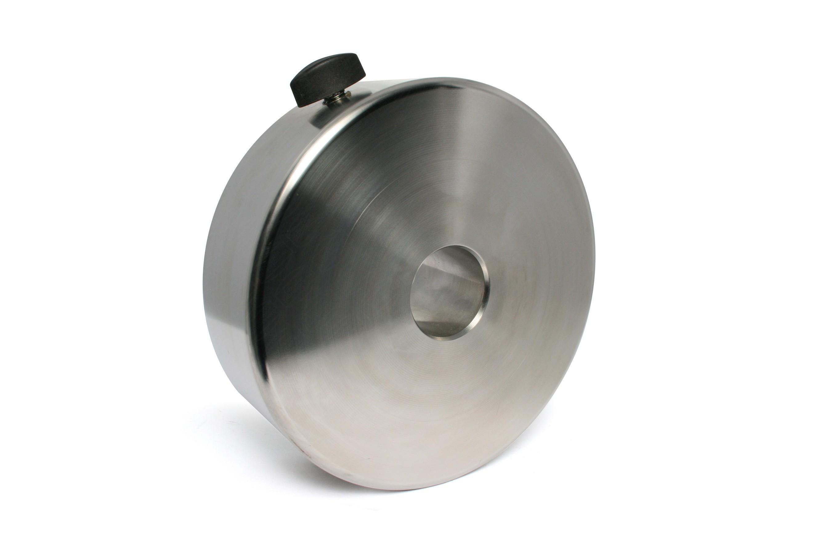 12kg Gegengewicht für 10Micron GM2000 aus V2A-Stahl