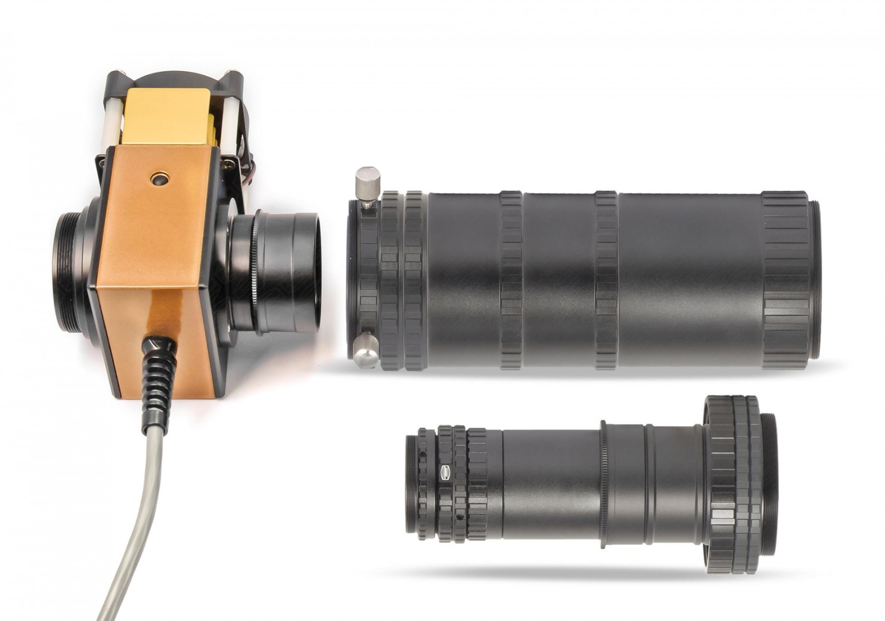 Anwendungsbild: M68 Tele-Kompendium mit Telezentrischem System und SolarSpectrum H-alpha Filter