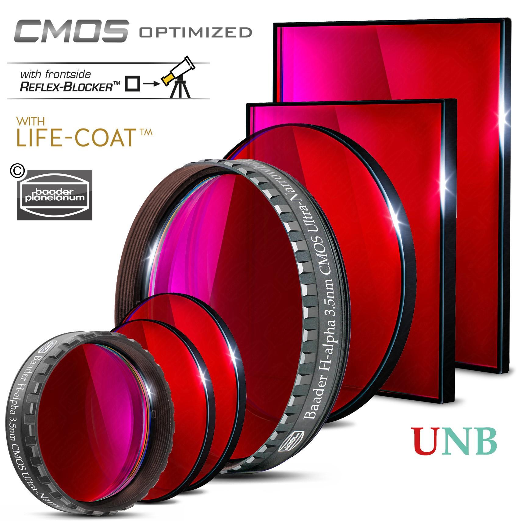 Baader H-alpha Ultra-Narrowband-Filters (3.5nm) – CMOS-optimized