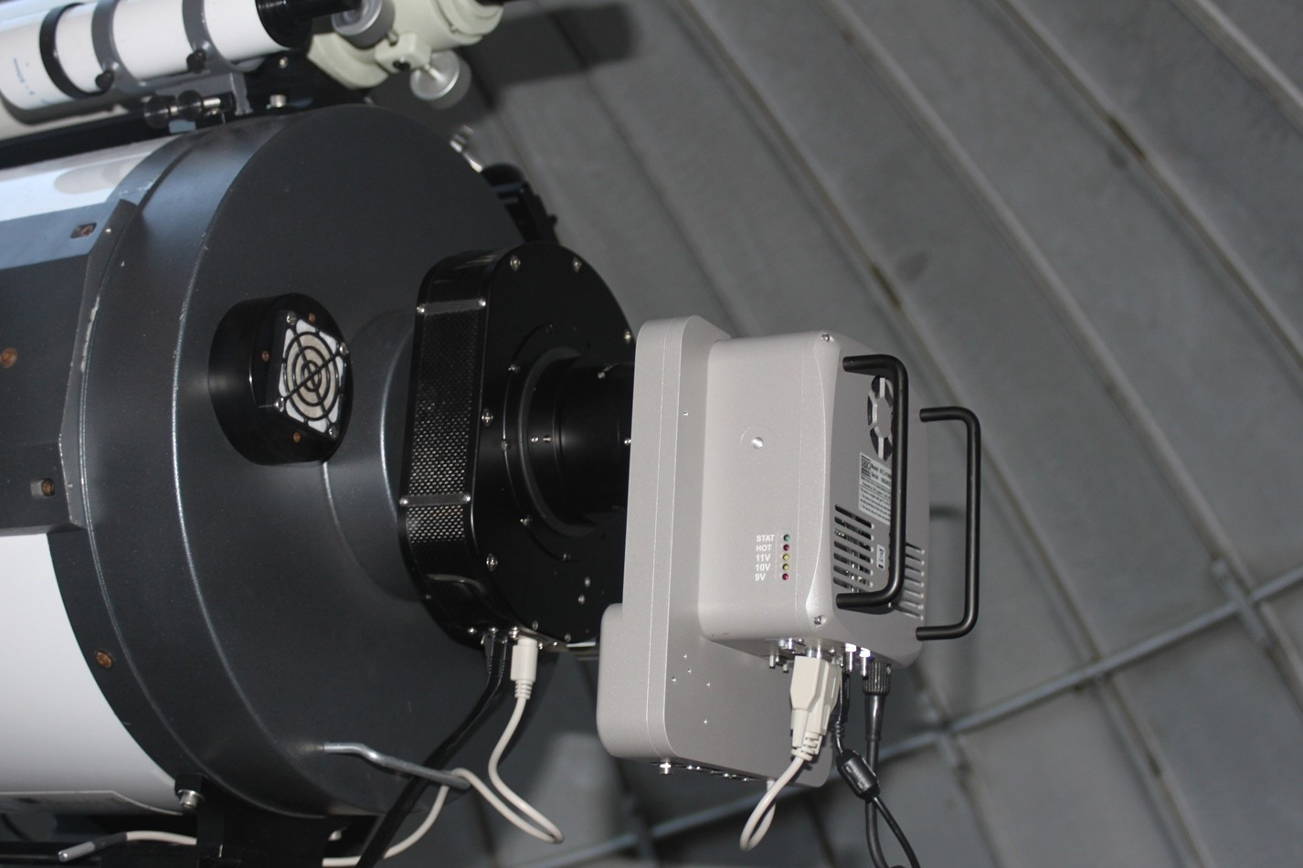 """Application image: Optec Gemini with STL11000 and Meade 16"""""""