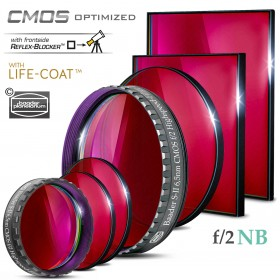 Baader S-II  f/2 Highspeed-Filters (6.5nm) – CMOS-optimized