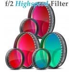 Baader f/2 Highspeed-Filters (H-alpha, O-III, S-II)