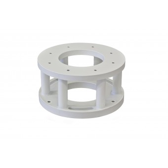Baader Steel Leveling flange for Planewave L-Mount 500/600, Height 10cm