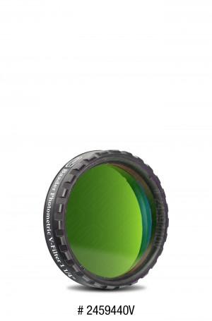 """UBVRI V-Filter Photometrisch nach Bessel 1¼""""  (4mm Glas)"""