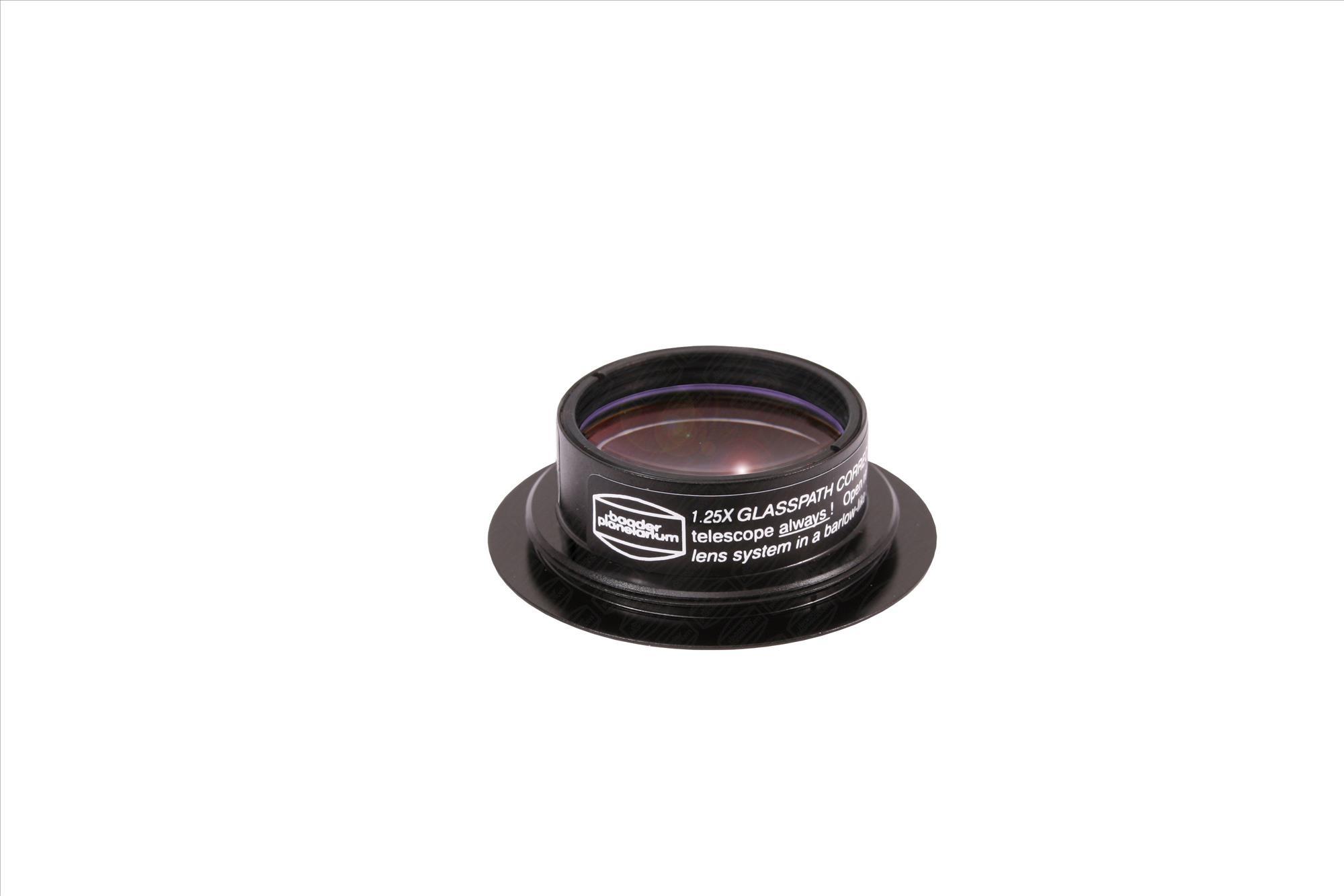 Glaswegkorrektor® 1:1,25 für Baader-Binokulare mit Zeiss-Ringschwalbe (Maxbright® II und Mark V)