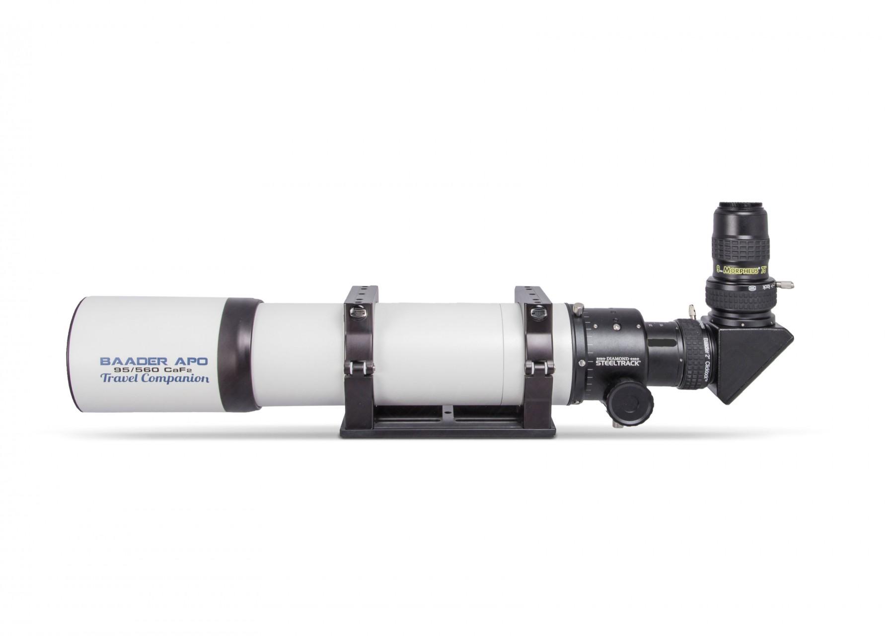Anwendungsbild: Baader Fluorit APO (inkl. Diamond Steeltrack), Clicklock S58, BBHS Zenitspiegel, Morpheus 76°