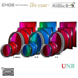 3.5 / 4nm Ultra-Narrowband-Filtersatz – CMOS-optimiert (H-alpha / O-III / S-II)