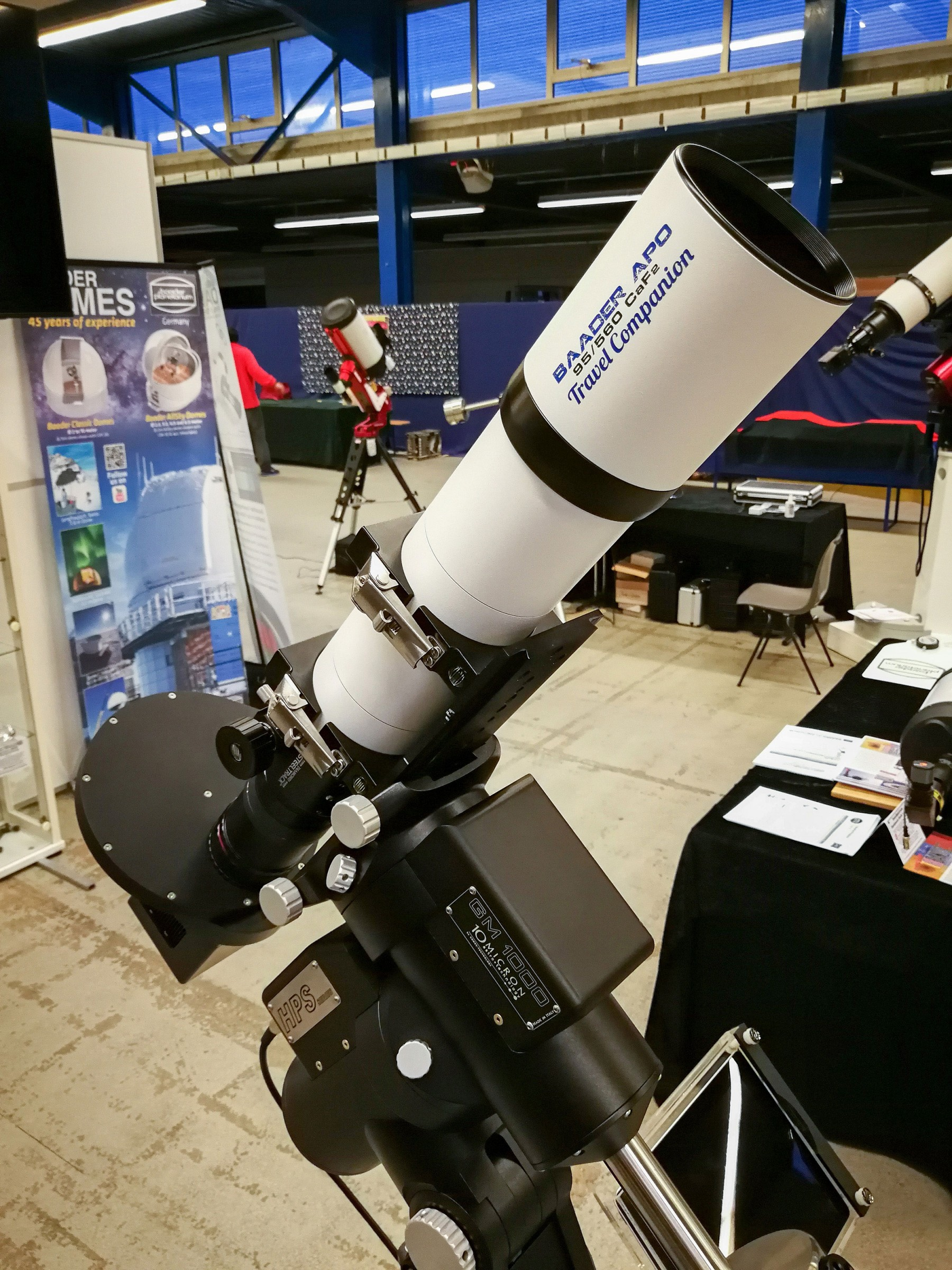 Application image: Baader APO95 with M68 Field Flattener
