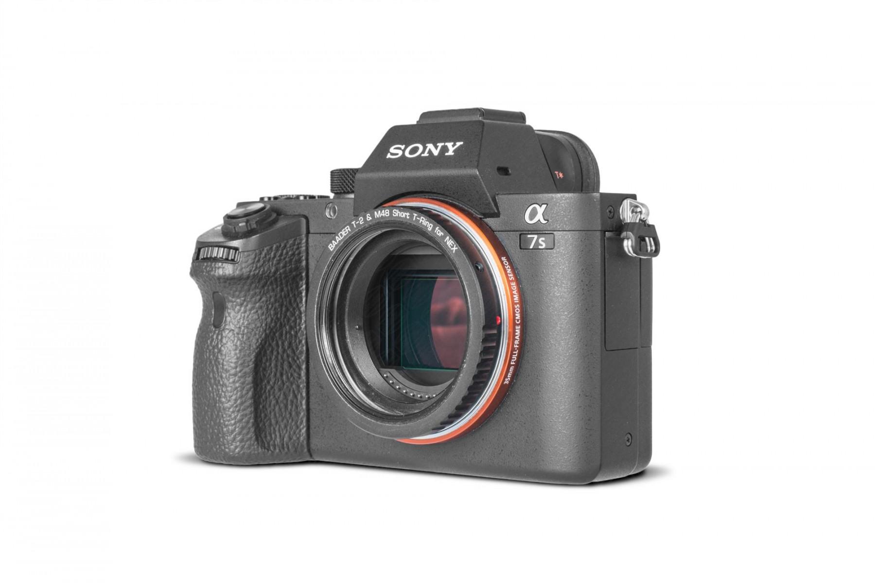 Anwendungsbild: Sony E/NEX T-Ring mit M48 Innengewinde