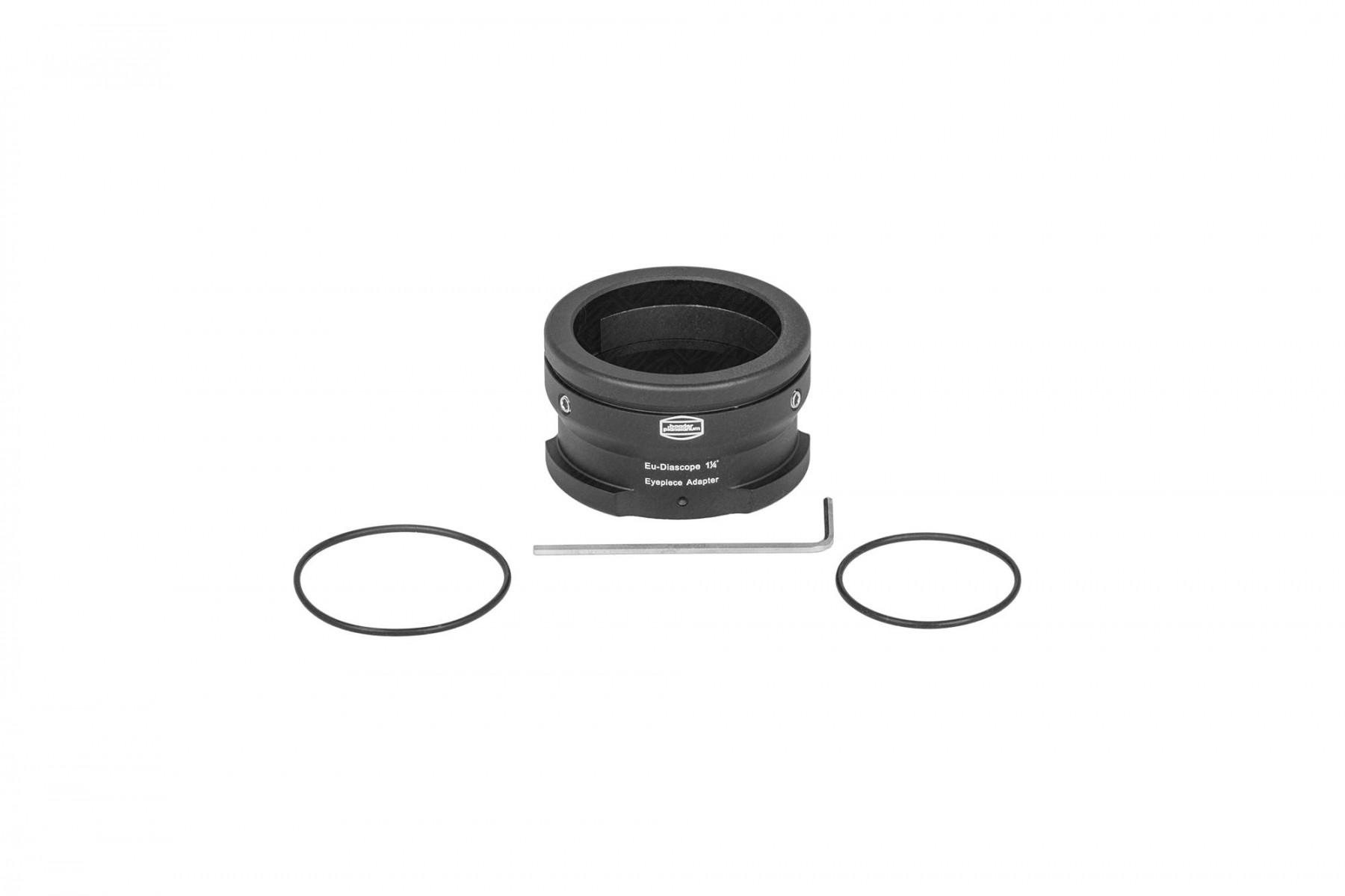 Lieferumfang: Classic Ortho 6mm und Hyperion Zoom Barlow (nicht abgebildet) Zeiss Diascope Okularbajonett, Inbusschlüssel, 2x O-Ringe