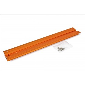 "V-Dove Tail orange anodized, 455mm, drilled for Celestron 9.25"" and 11"" SC / HD"