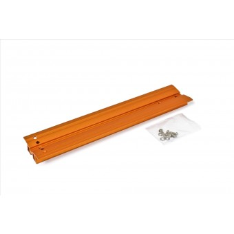 "V-Dove Tail Celestron-orange anodized, 345mm, drilled for Celestron 8"" SC / HD"