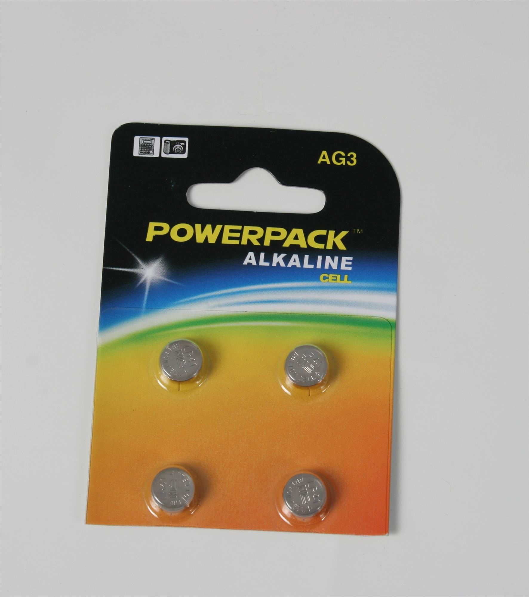 4x Batterien SR 41W, 1.55 V