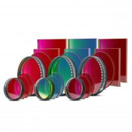 Full-Frame CCD Schmalbandfiltersatz I (H-alpha 7 / OIII / SII)