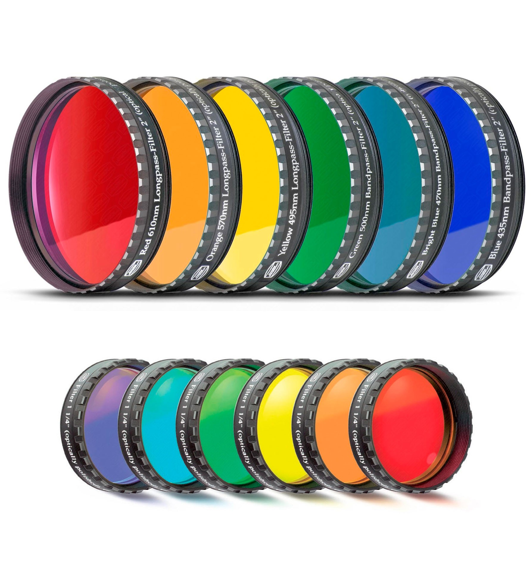 Baader Color Filter-Set Moon and Planetary (6 colors)