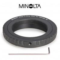 Wide-T-Ring Sony Alpha und Minolta Maxxum mit D52i auf T-2 und S52