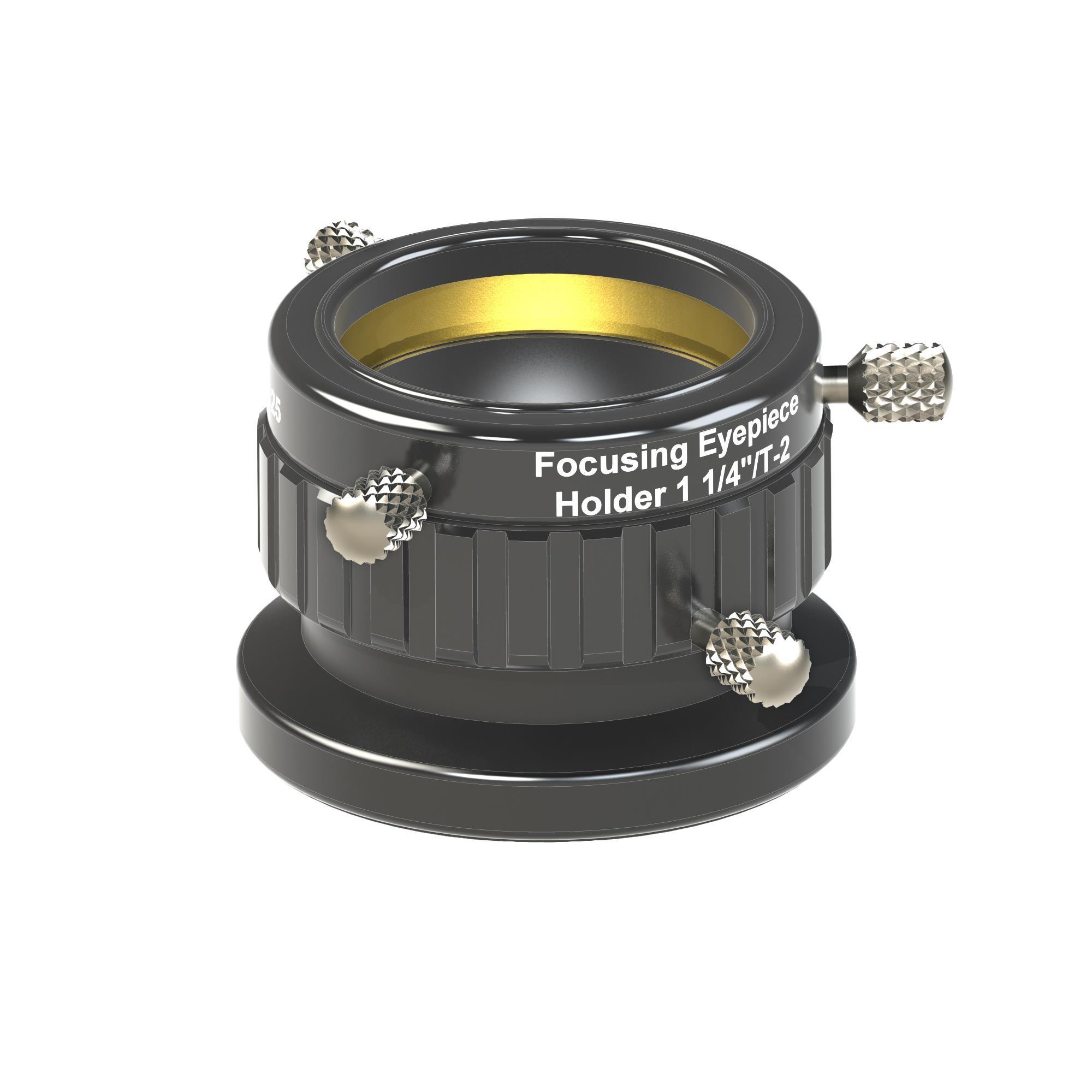 "Baader Focusing Eyepiece Holder 1¼"" / T-2  (T-2 part #08A)"