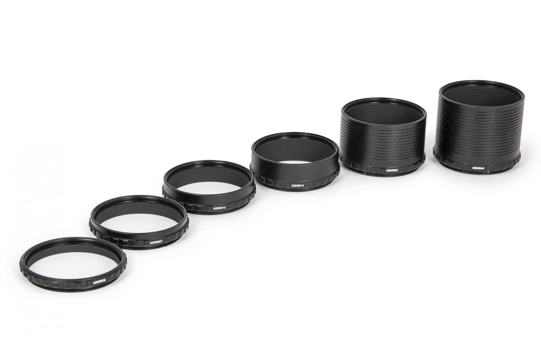 M48 Adjustment rings (5 mm, 7,5 mm, 10 mm, 15 mm, 30mm, 40 mm)