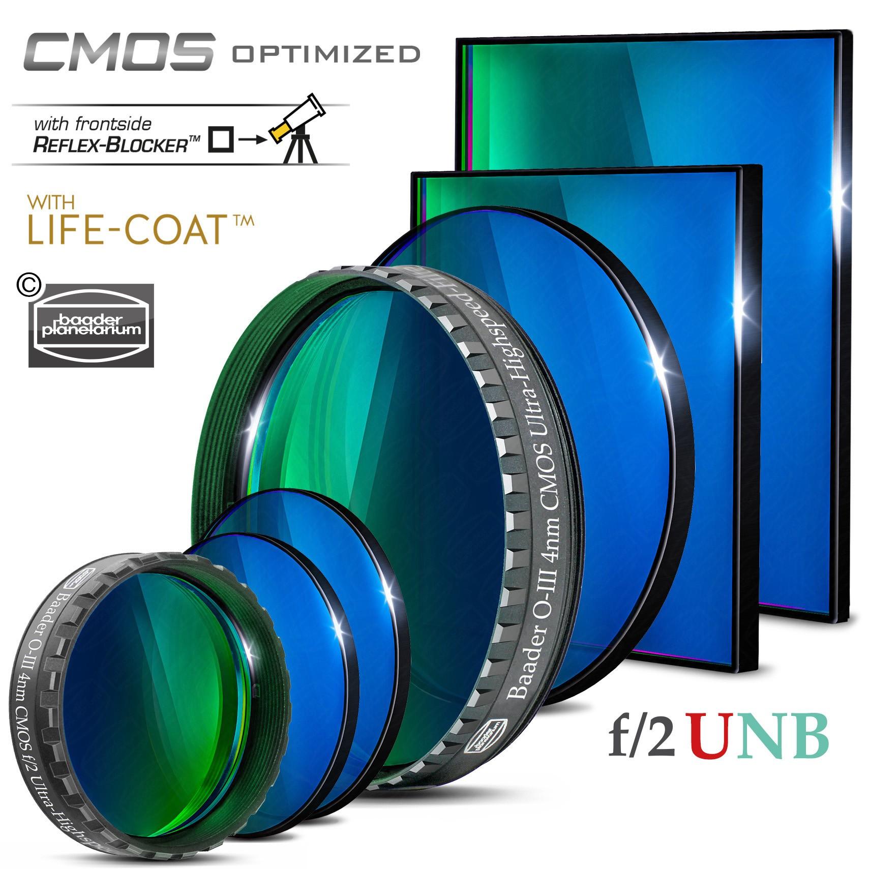 O-III f/2 Ultra-Highspeed-Filter (4nm) – CMOS-optimiert