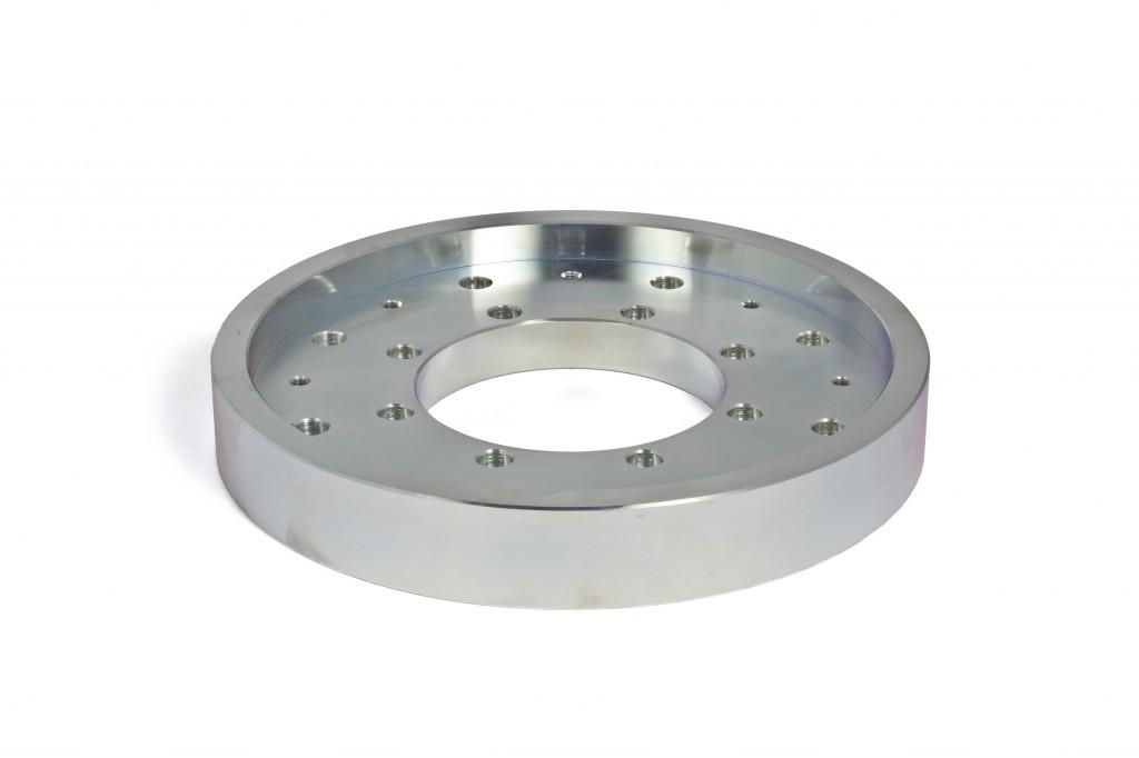 Steel pillar flange for GM 3000 mount
