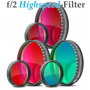 Baader f/2 Highspeed-Filter (H-alpha, O-III, S-II)