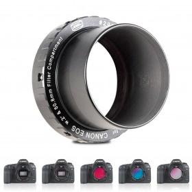 """Protective CANON DSLR-T-Ring T-2/M48 und 2"""" (mit und ohne Filter verfügbar)"""