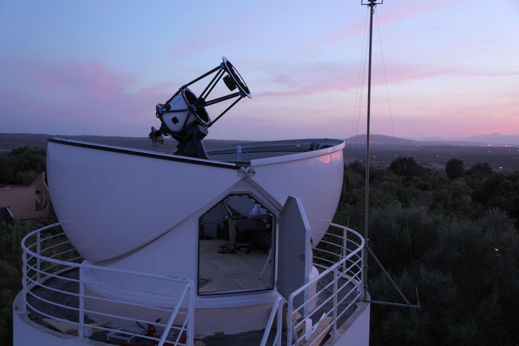 4.5m Schlüsselfertige Sternwarte (AllSky) in Mallorca