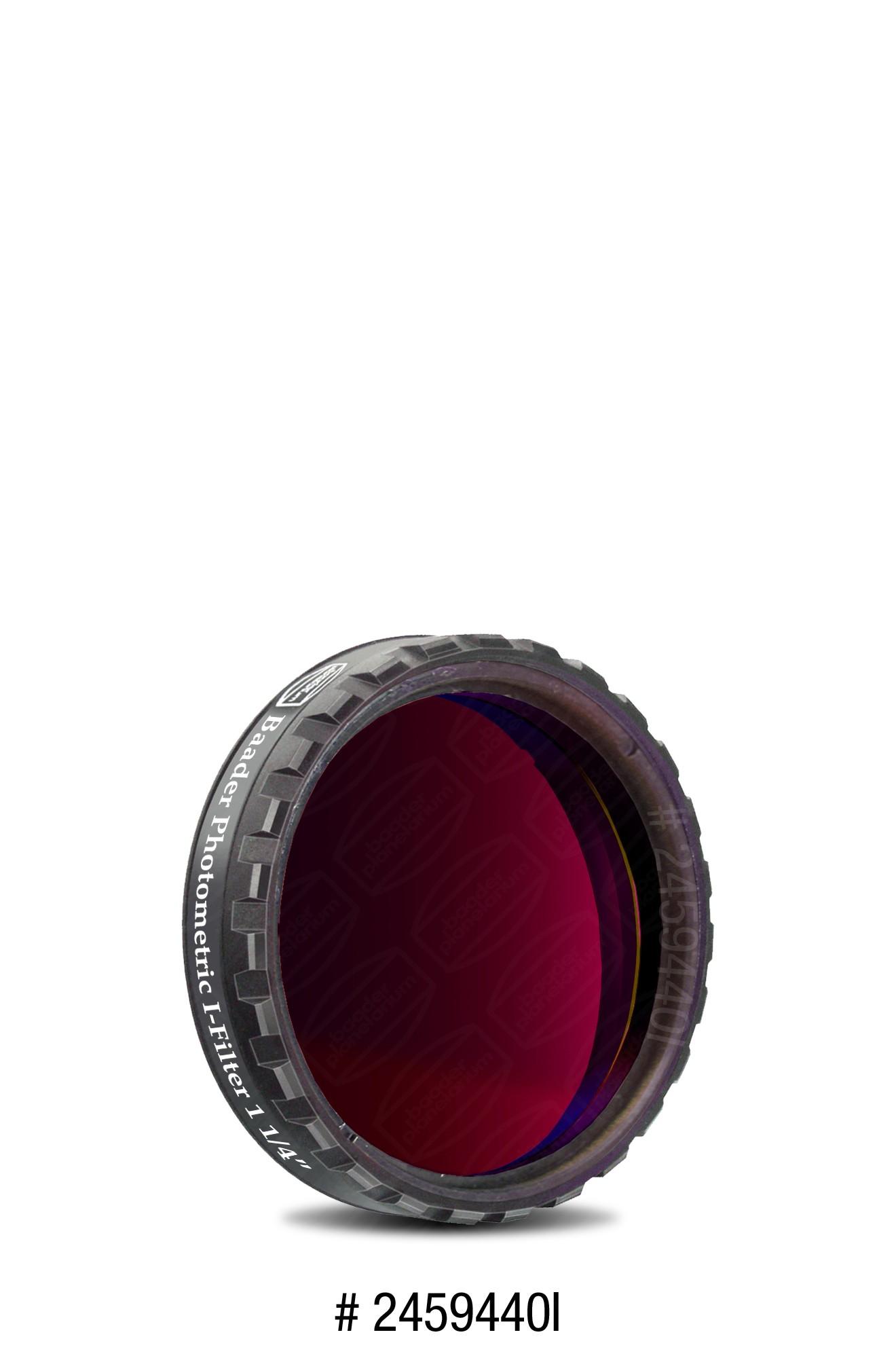 """UBVRI I-Filter Photometrisch nach Bessel 1¼""""  (4mm Glas)"""