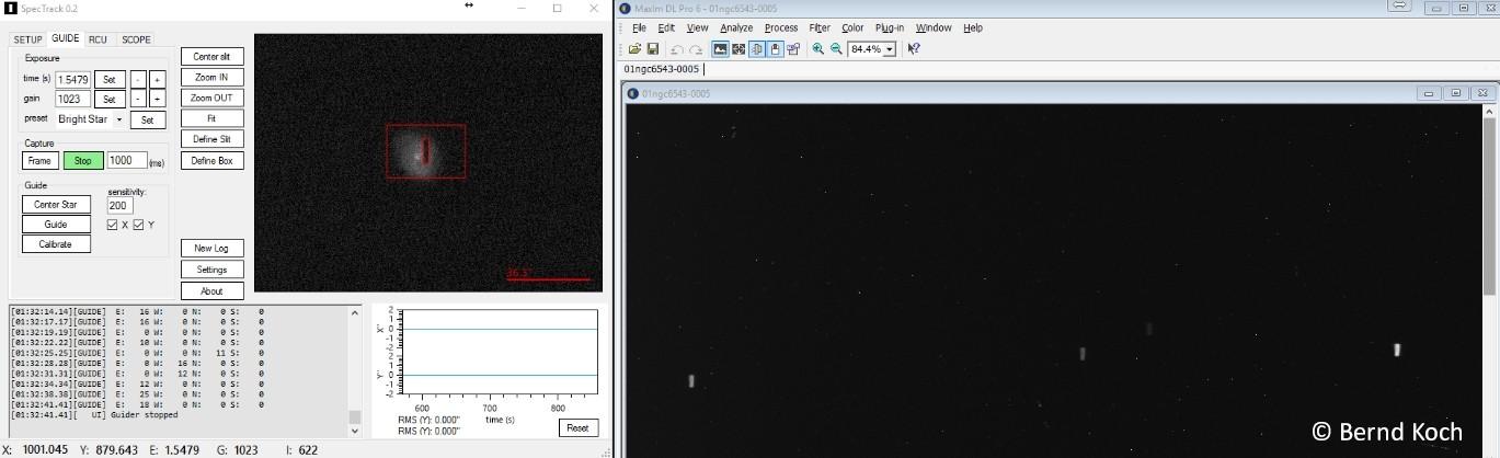 Application: NGC6543 Shell