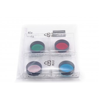 "Baader CCD RGB Filter-Set 1¼"" for beginners (3 Color Filters + IR Cut Filter)"