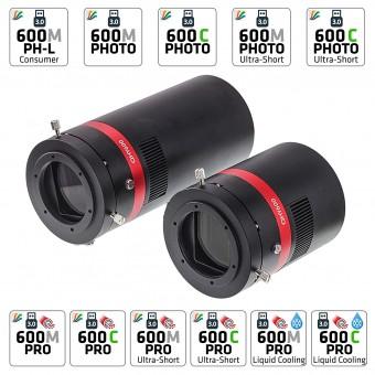 QHY 600 M/C BSI Cooled Kameras (verschiedene Versionen erhältlich)