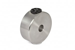 "6kg CDP-counterweight for GM 1000 stainless steel (V2A), incl. 1/4"" photo thread"