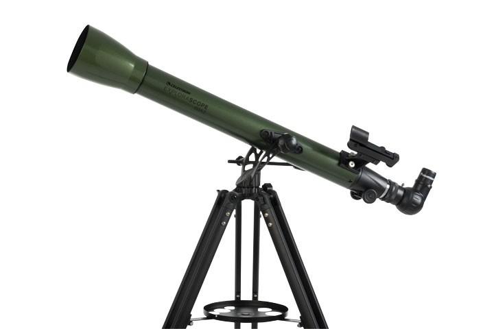 ExploraScope 60AZ Teleskop + 1,25 Zoll Okular geschenkt