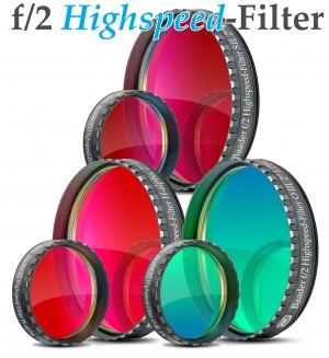 Baader f/2 Highspeed-Filter (H-alpha, O-III, S-II)
