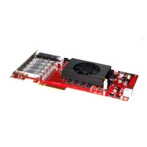 PCIE Board mit Glasfaser Kit