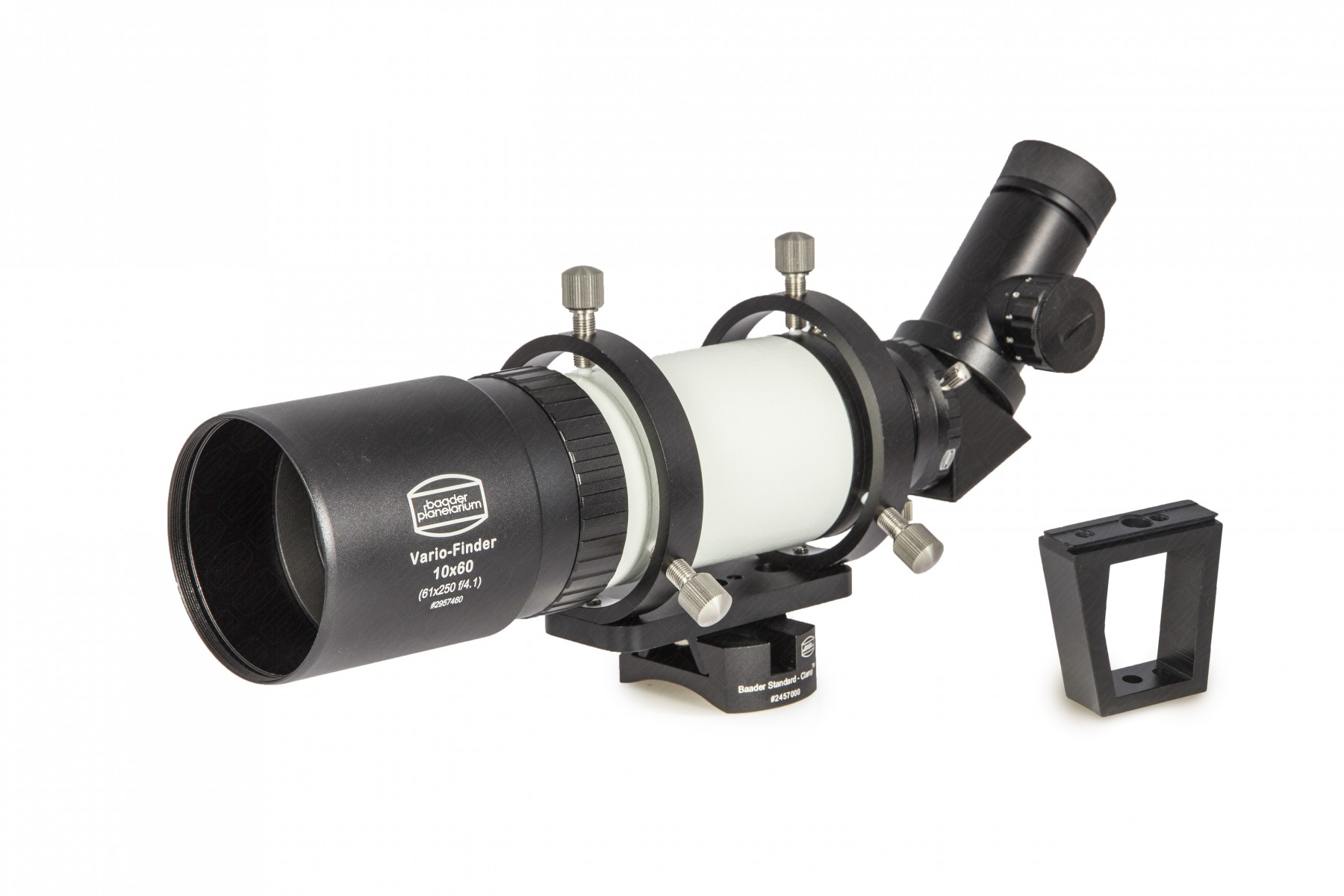 Application Image: Baader Multi-Purpose Vario Finder with MQR-IV Finder Bracket in Low-Profile Configuration and Universal Red Dot Mount (RDM)