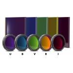 UBVRI Filtersatz Photometrisch nach Bessel (4mm Glas)