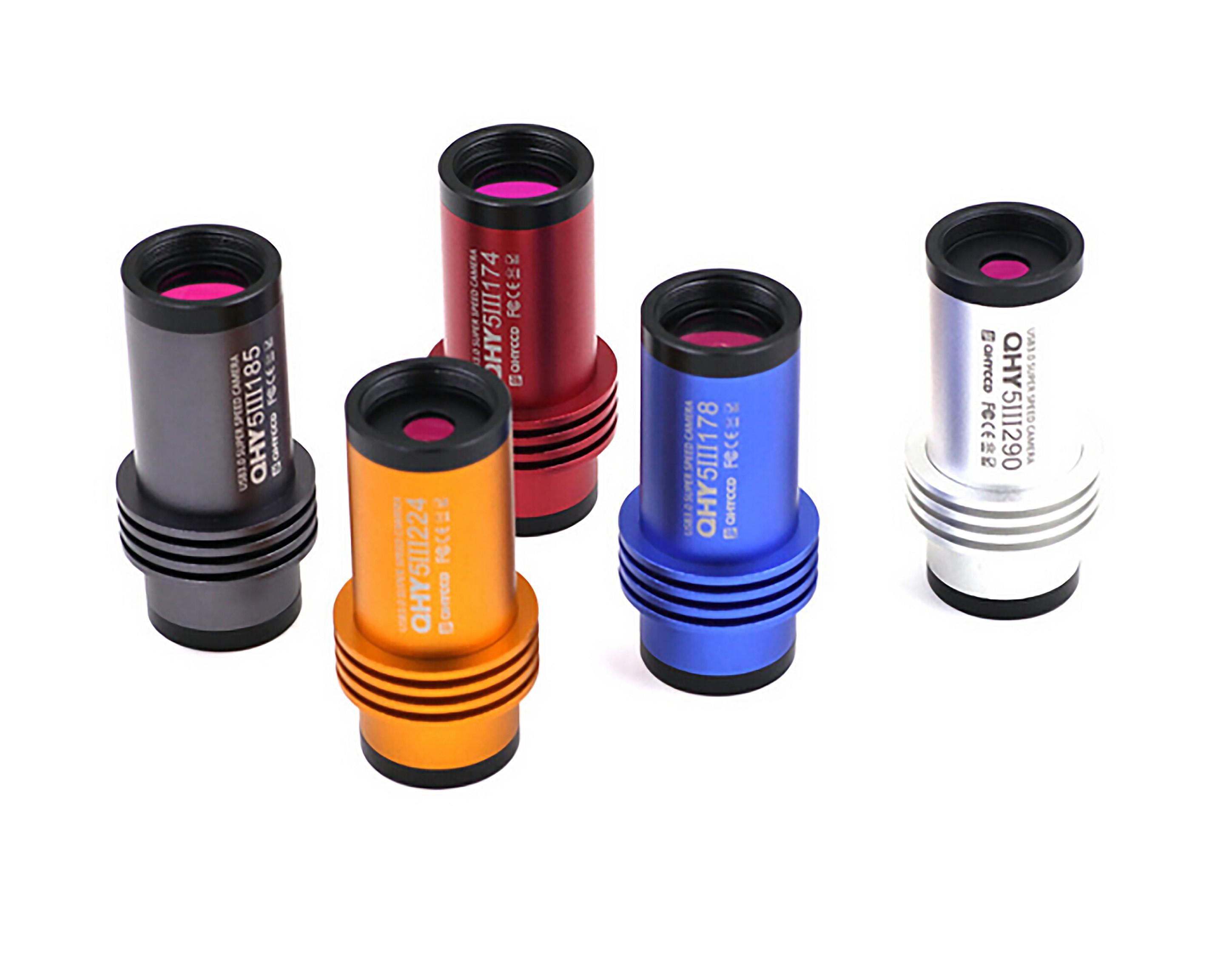 QHY 5-III Serie USB 3.0 Guiding und Planetenkameras (verschiedene Versionen erhältlich)