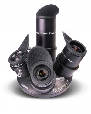 Baader Q-Turret Okularsatz (Okularrevolver, 4x Classic Ortho, 1x Q-Barlow 2.25x)