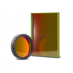 UBVRI R-Filter Photometrisch nach Johnson/Bessel (4mm Glas)