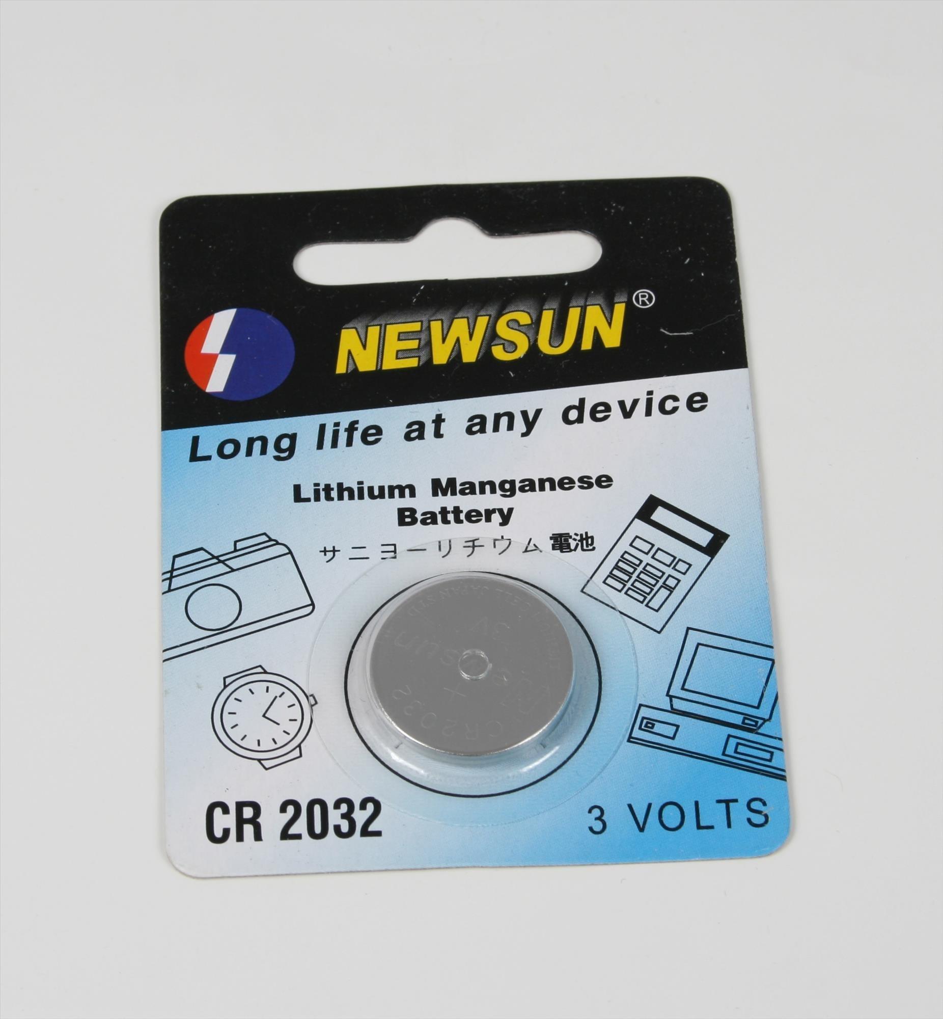 Battery 3V Lithium for Celestron Star Pointer, Baader Sky Surfer III / V and Vario-Finder