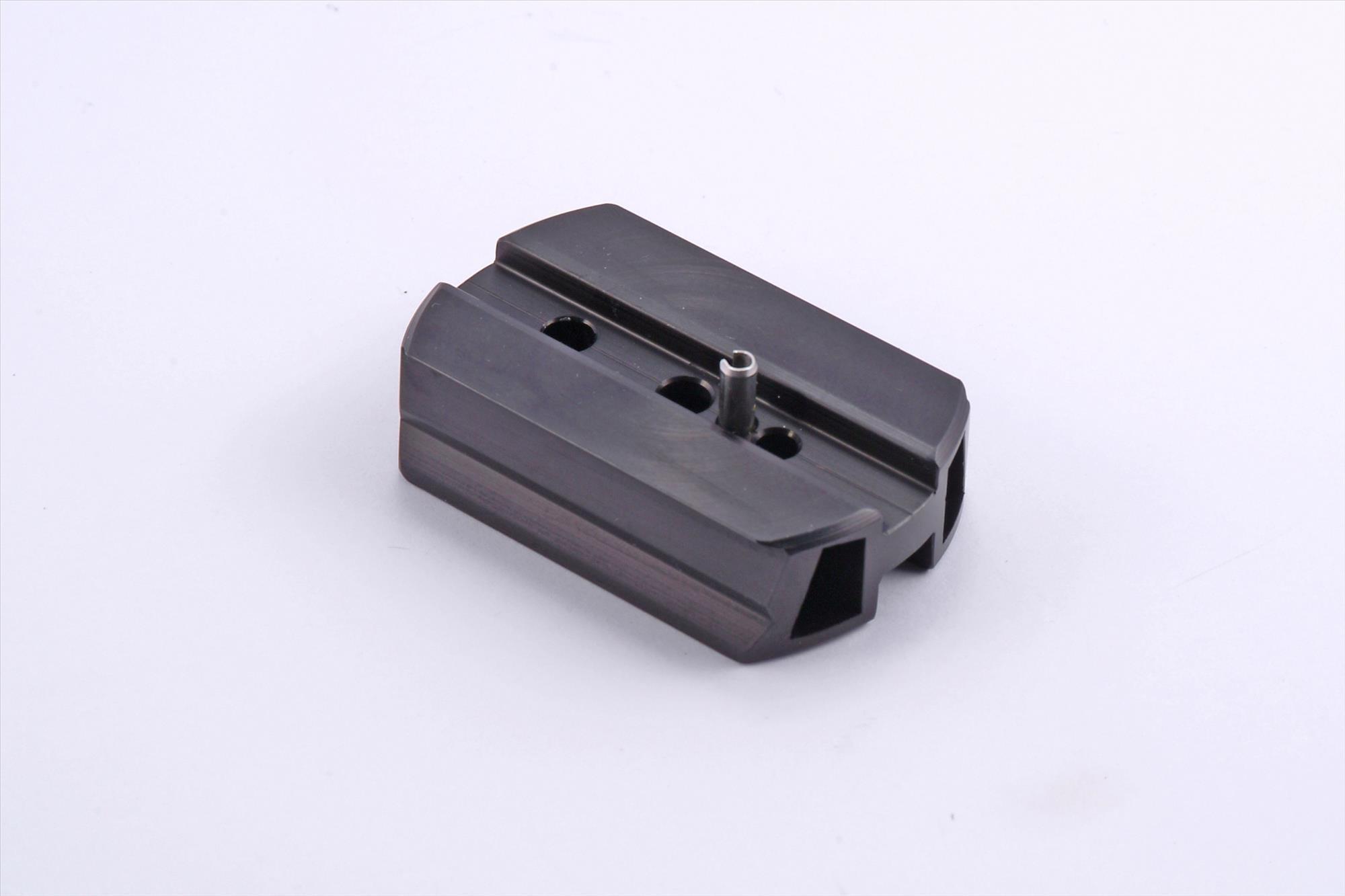 Schwalbenschwanz-Schiene, 70mm für Zeiss-Diascope / Leica-Spektive