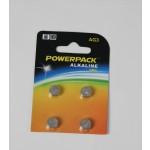 Battery set SR41W/1.55V 4pc for illuminator