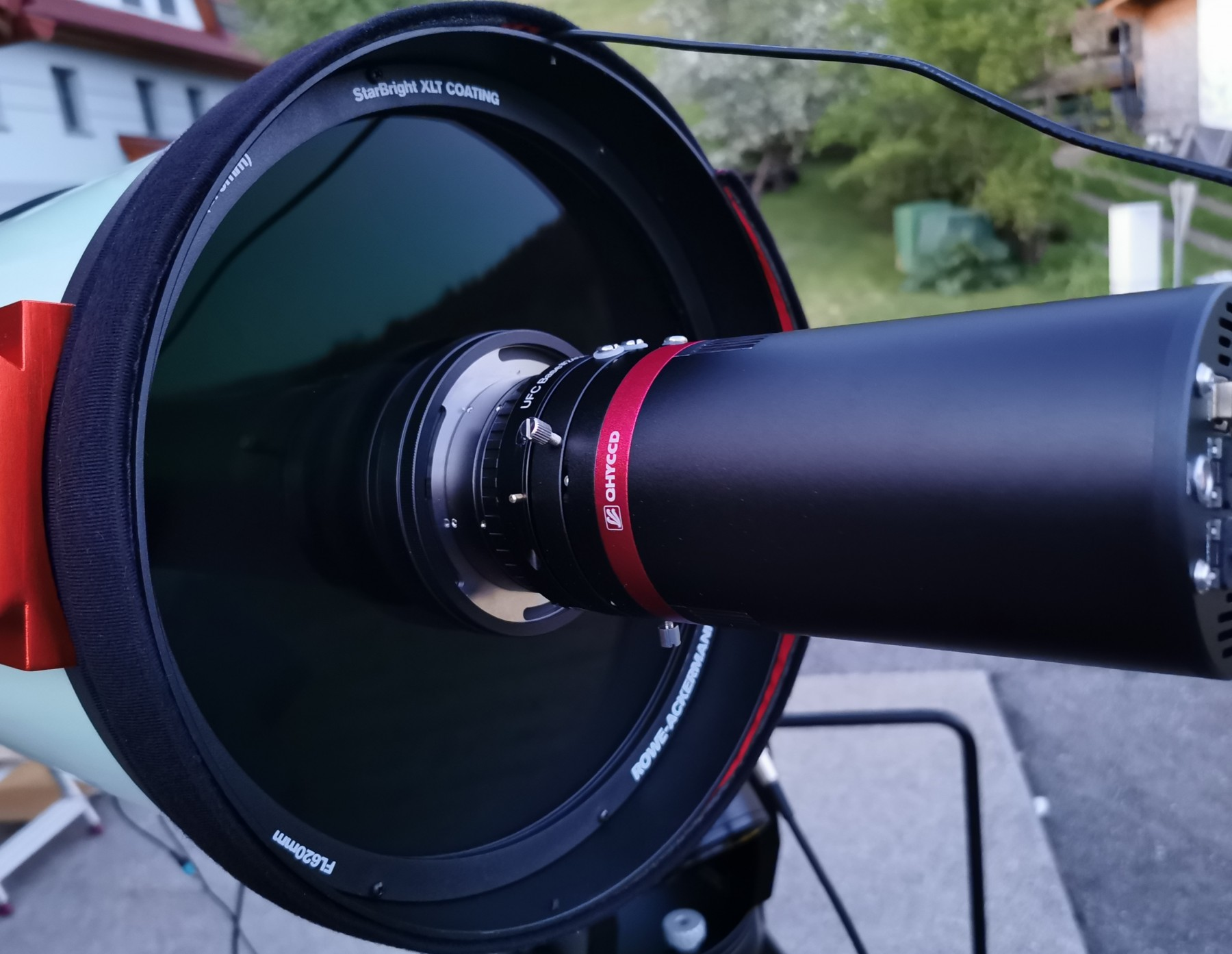 "Application image: RASA 11"" with QHY600M + Baader UFC D 50.4 Filter Slider + Baader UFC Basis"