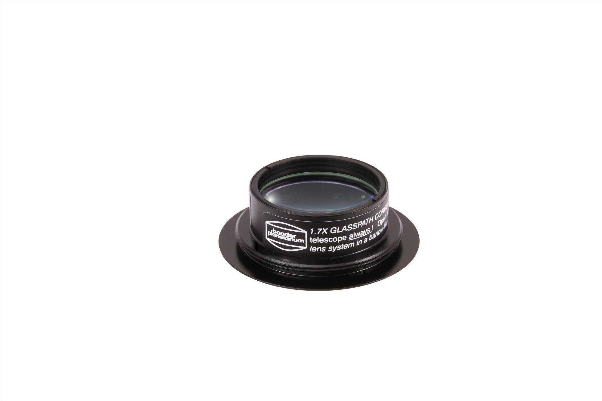 Glaswegkorrektor® 1:1,70 für Baader-Binokulare mit T-2 Gewindeanschluss (Maxbright® und Maxbright® II)