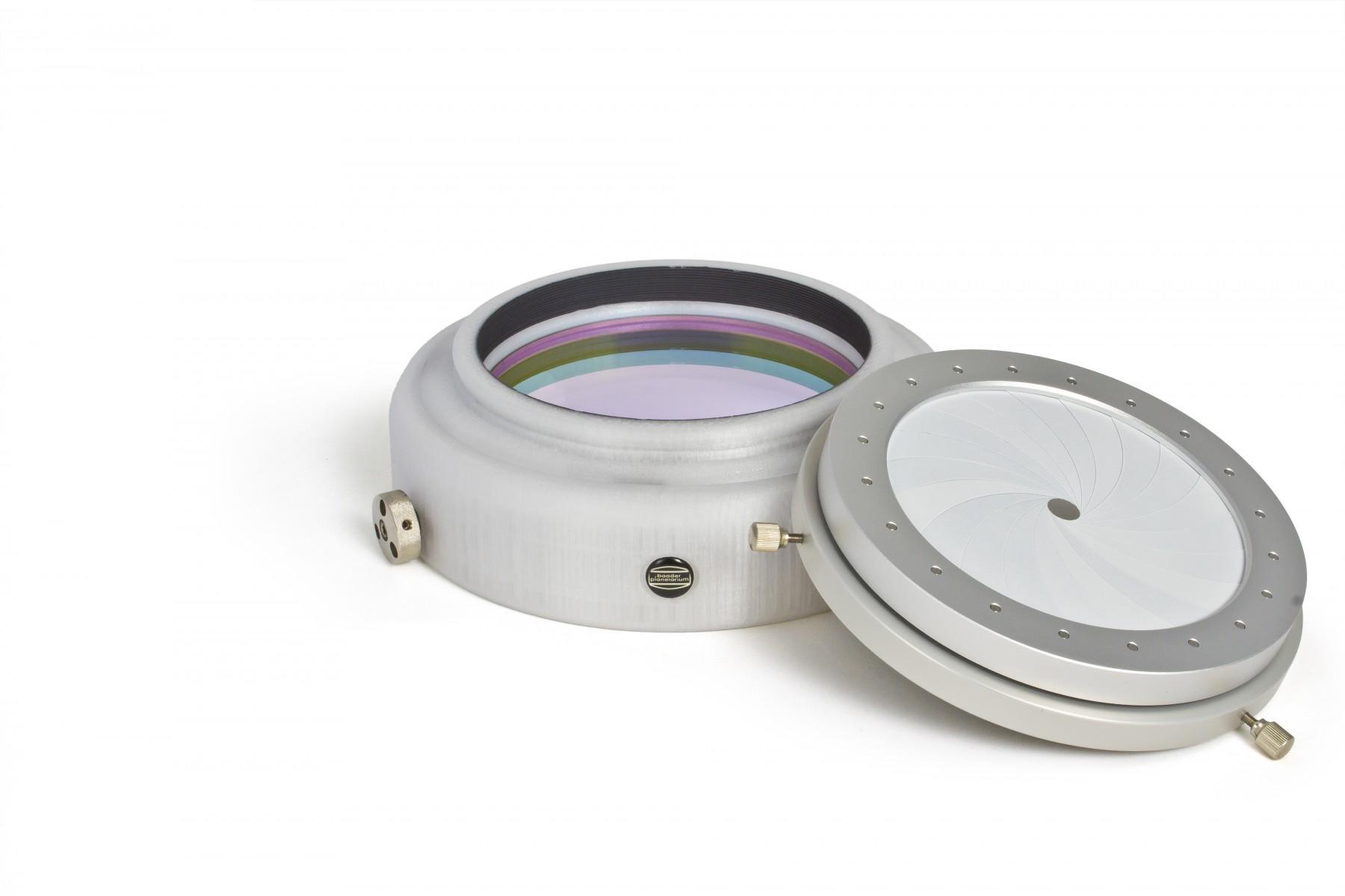 Anwendungsbild mit 3D-gedruckter Filterfassung und D-ERF Energieschutzfilter