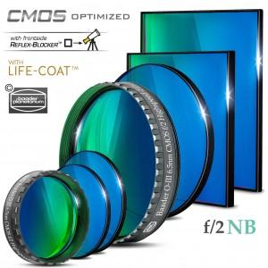 O-III  f/2 Highspeed-Filter (6.5nm) – CMOS-optimiert